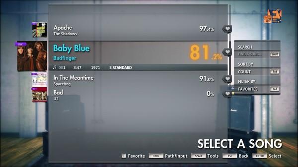 "Скриншот №1 к Rocksmith® 2014 Edition – Remastered – Badfinger - ""Baby Blue"""