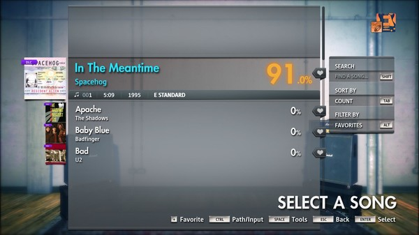 """Скриншот №2 к Rocksmith® 2014 Edition – Remastered – Spacehog - """"In The Meantime"""""""