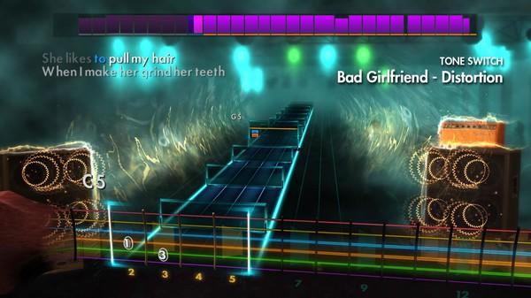 "Скриншот №2 к Rocksmith® 2014 Edition – Remastered – Theory of a Deadman - ""Bad Girlfriend"""