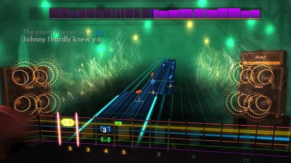 "Скриншот №5 к Rocksmith® 2014 Edition – Remastered – Dropkick Murphys - ""Johnny I Hardly Knew Ya"""