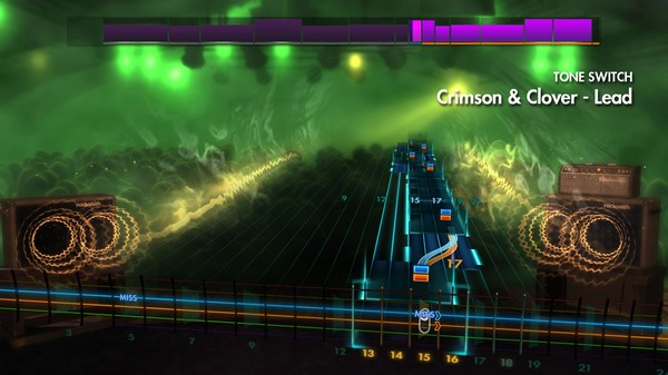 "Скриншот №3 к Rocksmith® 2014 Edition – Remastered – Joan Jett  the Blackhearts - ""Crimson  Clover"""