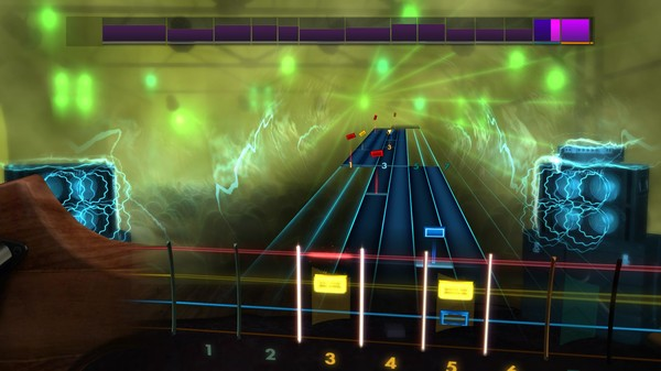 "Скриншот №4 к Rocksmith® 2014 Edition – Remastered – Joan Jett  the Blackhearts - ""Crimson  Clover"""
