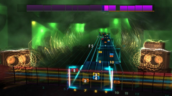 "Скриншот №1 к Rocksmith® 2014 Edition – Remastered – Joan Jett  the Blackhearts - ""Crimson  Clover"""