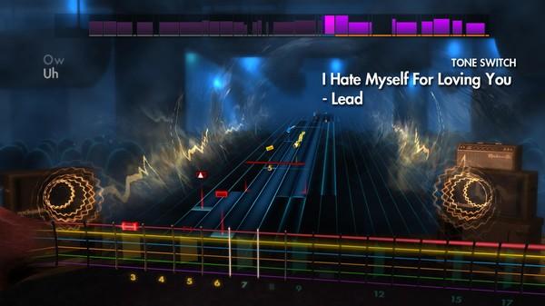 "Скриншот №1 к Rocksmith® 2014 Edition – Remastered – Joan Jett  the Blackhearts - ""I Hate Myself For Loving You"""