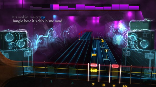 "Скриншот №4 к Rocksmith® 2014 Edition – Remastered – Steve Miller Band - ""Jungle Love"""