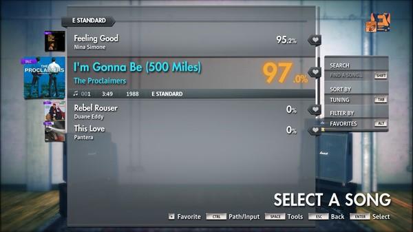 "Скриншот №2 к Rocksmith® 2014 Edition – Remastered – The Proclaimers - ""Im Gonna Be 500 Miles"""