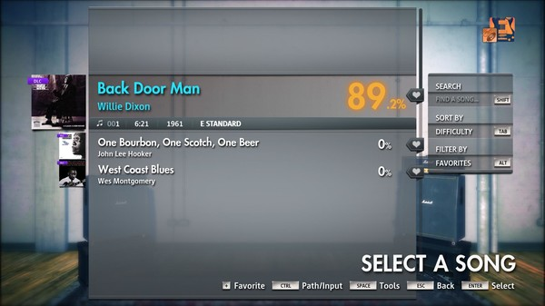 "Скриншот №5 к Rocksmith® 2014 Edition – Remastered – Willie Dixon - ""Back Door Man"""