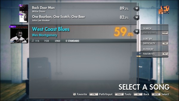 "Скриншот №3 к Rocksmith® 2014 Edition – Remastered – Wes Montgomery - ""West Coast Blues"""