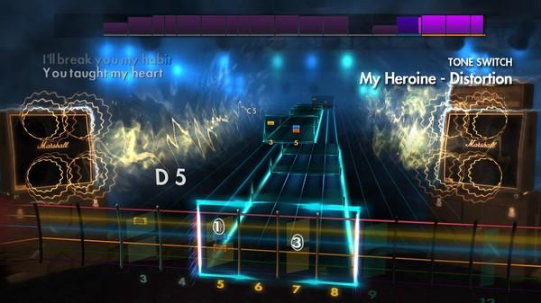 "Скриншот №2 к Rocksmith® 2014 Edition – Remastered – Silverstein - ""My Heroine"""