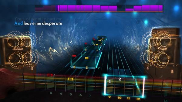 "Скриншот №4 к Rocksmith® 2014 Edition – Remastered – Silverstein - ""My Heroine"""