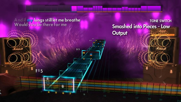 "Скриншот №4 к Rocksmith® 2014 Edition – Remastered – Silverstein - ""Smashed into Pieces"""