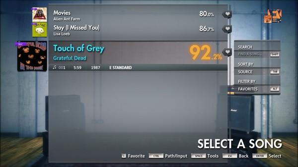 "Скриншот №1 к Rocksmith® 2014 Edition – Remastered – Grateful Dead - ""Touch of Grey"""