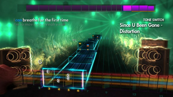 Скриншот №2 к Rocksmith® 2014 Edition – Remastered – Kelly Clarkson Song Pack