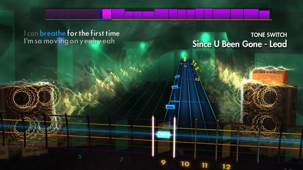 "Скриншот №2 к Rocksmith® 2014 Edition – Remastered – Kelly Clarkson - ""Since U Been Gone"""