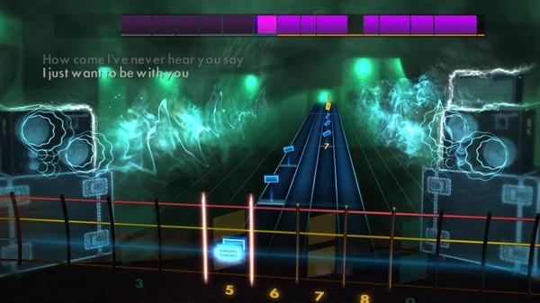 "Скриншот №4 к Rocksmith® 2014 Edition – Remastered – Kelly Clarkson - ""Since U Been Gone"""