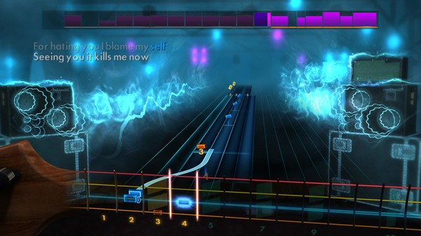 "Скриншот №5 к Rocksmith® 2014 Edition – Remastered – Kelly Clarkson - ""Behind These Hazel Eyes"""