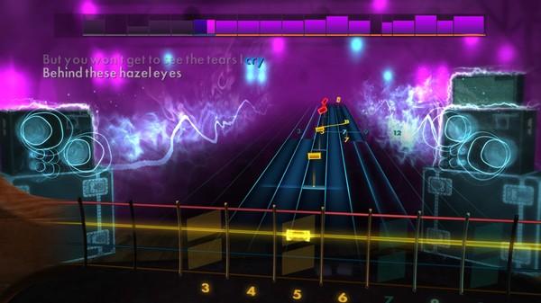 "Скриншот №4 к Rocksmith® 2014 Edition – Remastered – Kelly Clarkson - ""Behind These Hazel Eyes"""