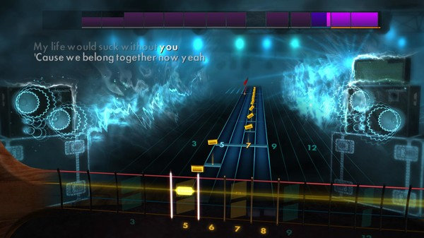 """Скриншот №5 к Rocksmith® 2014 Edition – Remastered – Kelly Clarkson - """"My Life Would Suck Without You"""""""