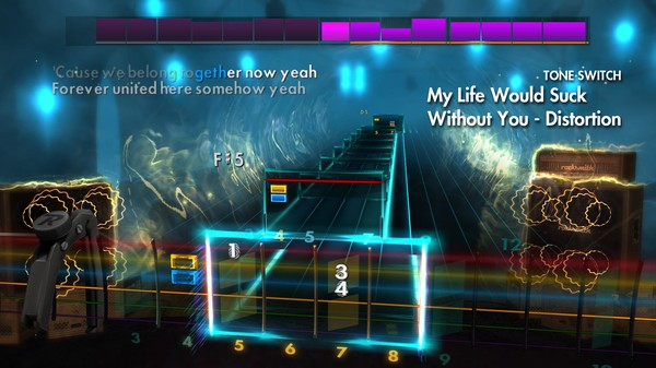 """Скриншот №3 к Rocksmith® 2014 Edition – Remastered – Kelly Clarkson - """"My Life Would Suck Without You"""""""