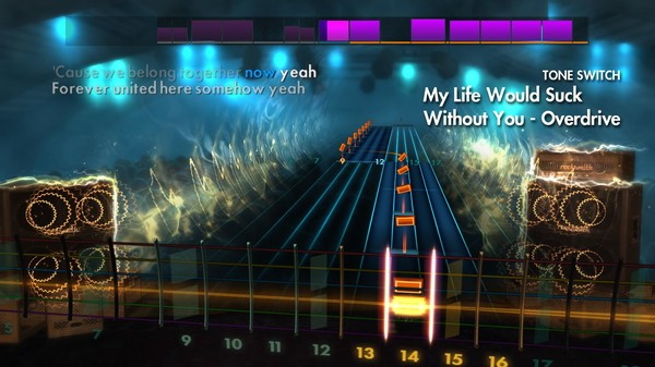 """Скриншот №2 к Rocksmith® 2014 Edition – Remastered – Kelly Clarkson - """"My Life Would Suck Without You"""""""