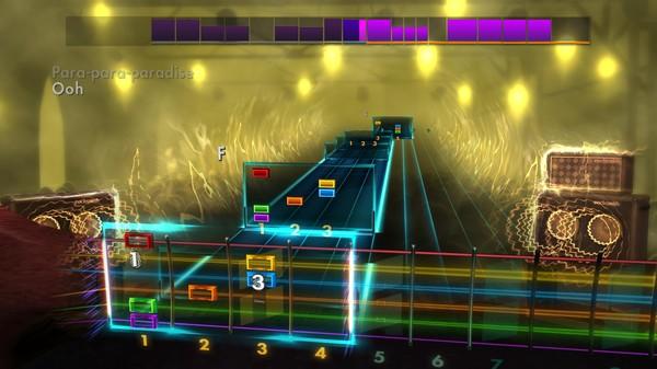 "Скриншот №3 к Rocksmith® 2014 Edition – Remastered – Coldplay - ""Paradise"""