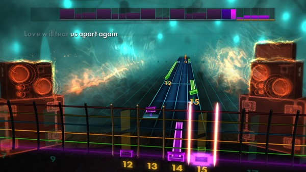 Скриншот №1 к Rocksmith® 2014 Edition – Remastered – Joy Division Song Pack