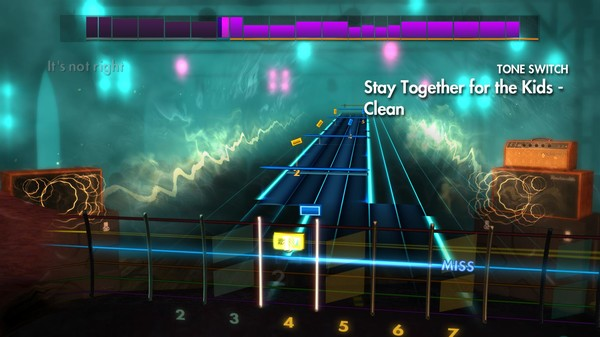 """Скриншот №3 к Rocksmith® 2014 Edition – Remastered – blink-182 - """"Stay Together for the Kids"""""""