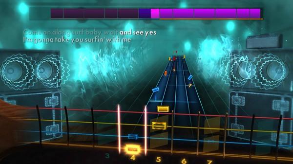 "Скриншот №4 к Rocksmith® 2014 Edition – Remastered – The Beach Boys - ""Surfin Safari"""