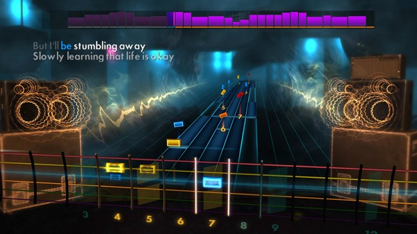 "Скриншот №4 к Rocksmith® 2014 Edition – Remastered – a-ha - ""Take On Me"""
