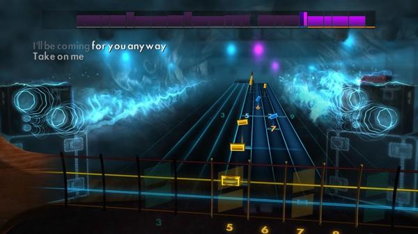 "Скриншот №3 к Rocksmith® 2014 Edition – Remastered – a-ha - ""Take On Me"""