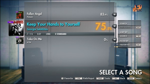 "Скриншот №3 к Rocksmith® 2014 Edition – Remastered – Georgia Satellites - ""Keep Your Hands to Yourself"""