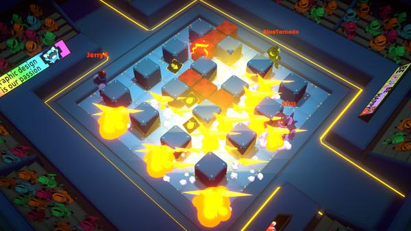 Screenshot of Bomb Bots Arena