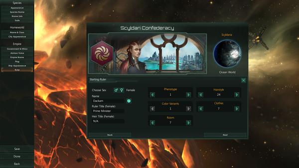 Скриншот №5 к Stellaris Humanoids Species Pack