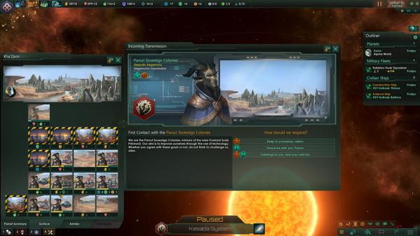 Скриншот №1 к Stellaris Humanoids Species Pack