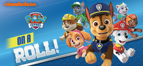 Paw Patrol: On A Roll! Cover Image