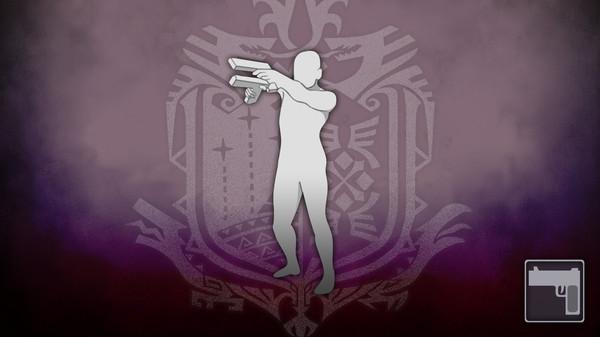 Скриншот №1 к Monster Hunter World - Жест двойные пистолеты из Devil May Cry