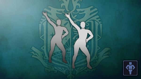 Скриншот №1 к Monster Hunter World - Жест танцевальная лихорадка