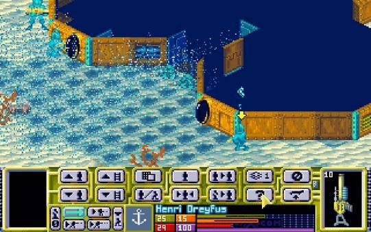 скриншот X-COM: Terror From the Deep 1