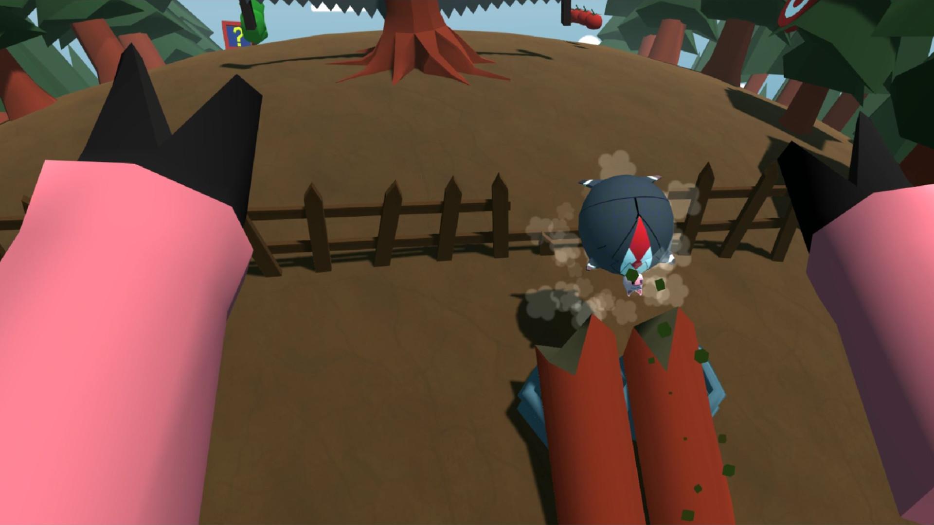 Oculus Quest 游戏《Bacon Roll》小猪快跑插图