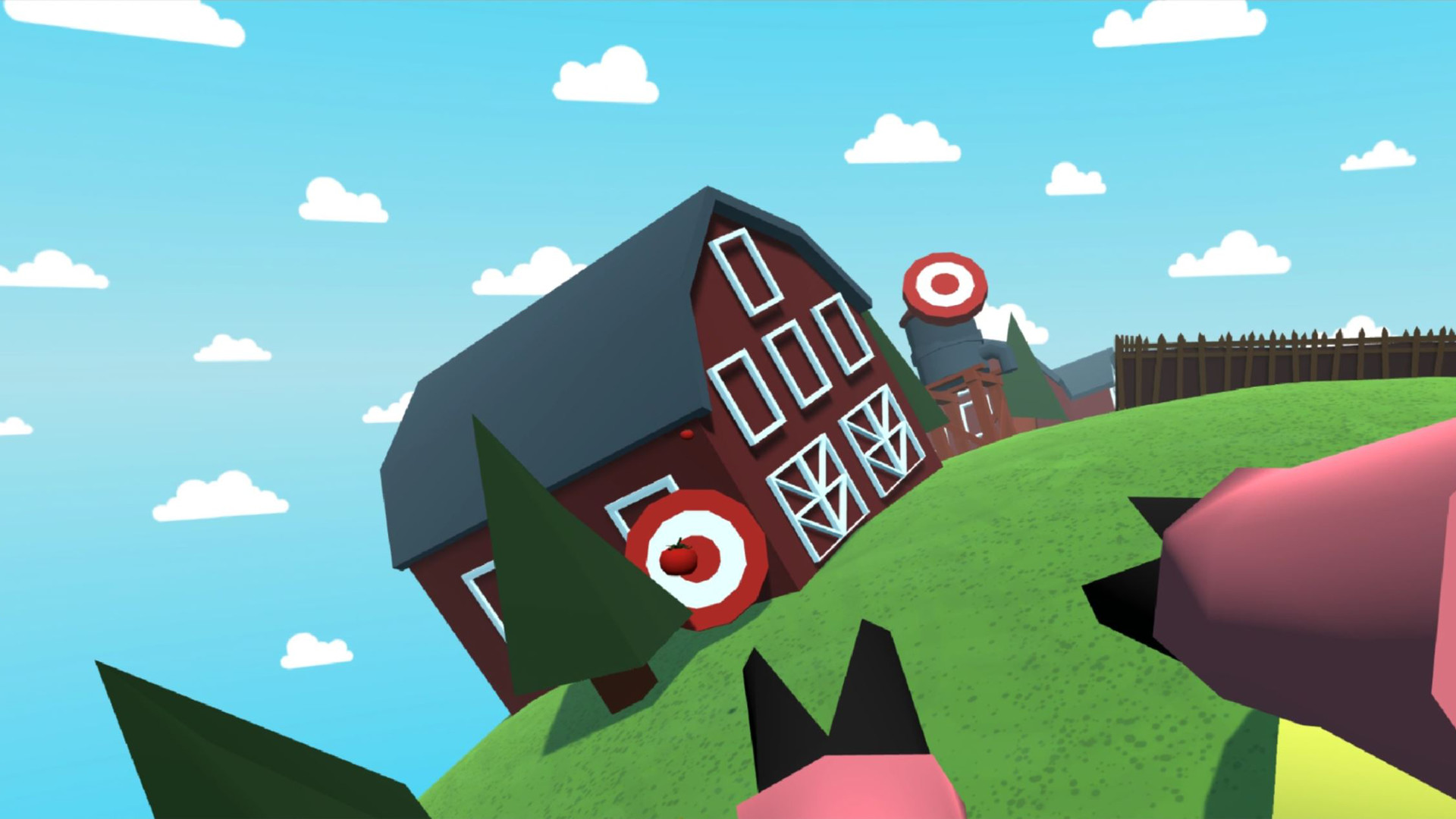 Oculus Quest 游戏《Bacon Roll》小猪快跑插图(1)
