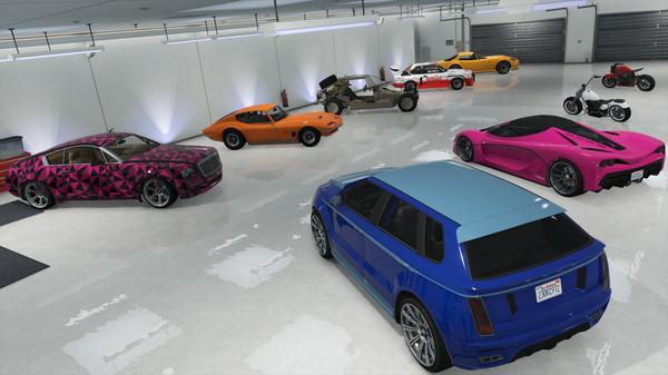Скриншот №3 к Grand Theft Auto V - Criminal Enterprise Starter Pack