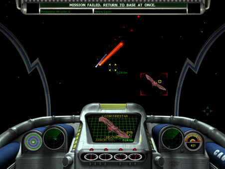 скриншот X-COM: Interceptor 1
