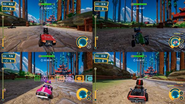 Screenshot of Meow Motors