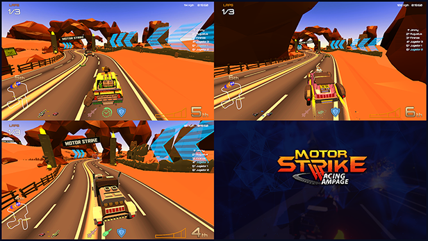 Motor Strike: Racing Rampage