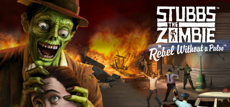 Stubbs the Zombie in Rebel Without a Pulse Cover Image