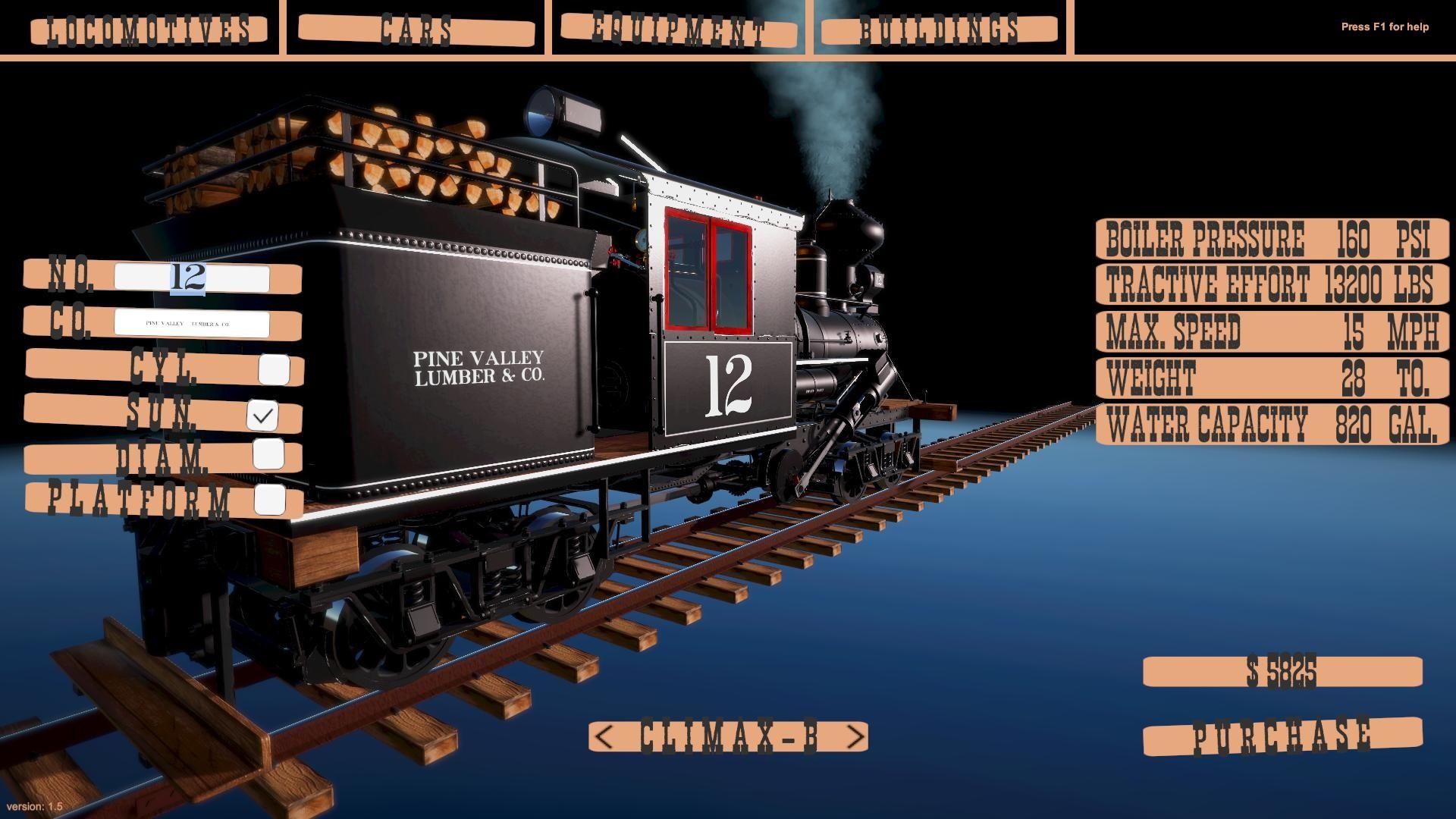 American Railroads - Summit River & Pine Valley no Steam