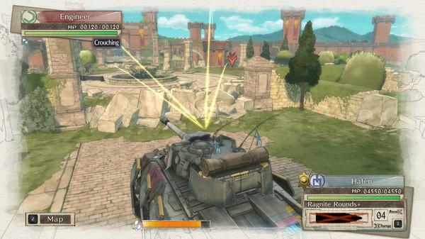 Valkyria Chronicles 4 скриншот