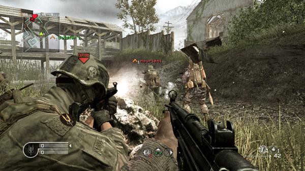 Скриншот №1 к Call of Duty® 4 Modern Warfare®