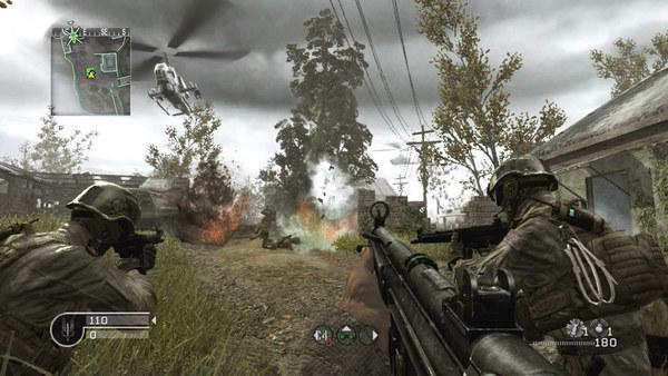 Скриншот №3 к Call of Duty® 4 Modern Warfare®