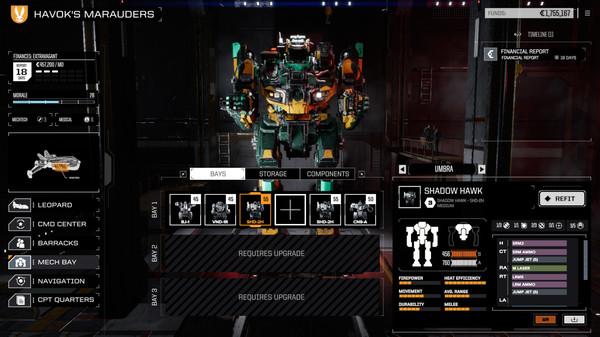 Скриншот №2 к BATTLETECH Shadow Hawk Pack